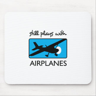 Noch Spiele mit Flugzeug Mauspad