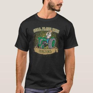 Noch Spiele mit grünen Traktoren T-Shirt