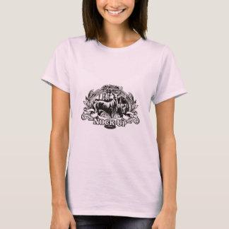 Nock herauf Bogenschießen-Jagd-Entwurf T-Shirt