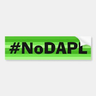 NoDAPL Autoaufkleber