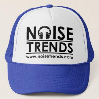 NOISEtrends Logo-Fernlastfahrer-Hut Truckerkappe