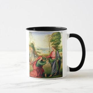 Noli ich Tangere, c.1508 (Öl auf Leinwand) Tasse