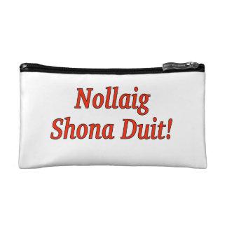 Nollaig Shona Duit! Frohe Weihnachten in irischem Kosmetiktasche