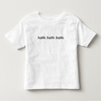 nom nom nom kleinkinder t-shirt