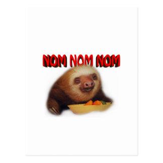 nom nom nom postkarte