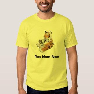 Nom Nom Nom Tiger-Shirt Hemden