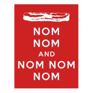 Nom Nom und Nom Nom Nom Postkarten