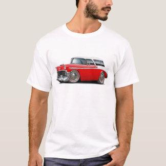 Nomade-Rot-Weißes Spitzenauto 1956 T-Shirt