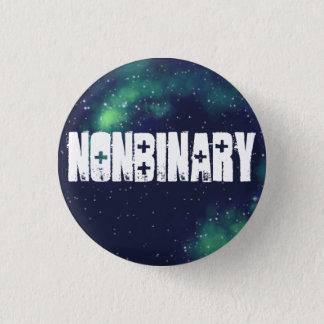 Nonbinary kundengerechte Galaxie-Identität Runder Button 3,2 Cm