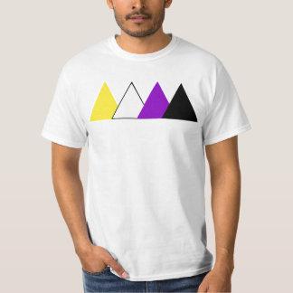 Nonbinary Stolz-Dreieck-T-Stück T-Shirt