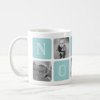 NONNA Großmutter-Foto-Collage Kaffeetasse