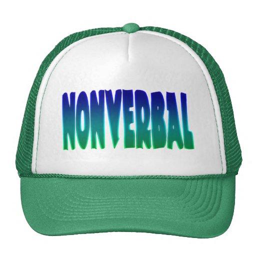 Nonverbale Hüte Trucker Mützen