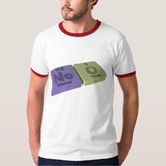 Noo als kein Nobelium und O-Sauerstoff T-Shirt