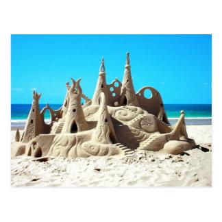 Noosa Strandsandcastle-Postkarte