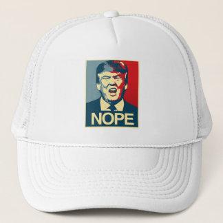 NOPE - Anti-Trumpf Plakat - Anti-Trumpf - Truckerkappe