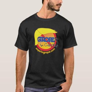 NOPE, zum Groper-in-Leiter dunklen grundlegenden T T-Shirt