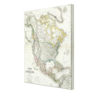 Nord Amerika - Nordamerika Leinwand Drucke