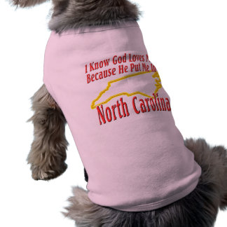 Nord-Carolina - Gott-Lieben ich T-Shirt