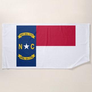 Nord-CarolinaStaats-Flagge Strandtuch