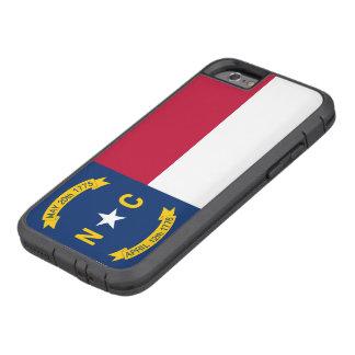 Nord-CarolinaStaats-Flagge Tough Xtreme iPhone 6 Hülle