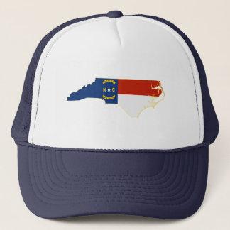 Nord-CarolinaStaats-Flaggen-Karte Truckerkappe