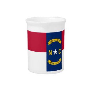Nord-CarolinaStaats-Flaggen-Krug Getränke Pitcher