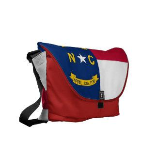 Nord-CarolinaStaats-Flaggen-Rickshaw-Bote-Tasche Kuriertasche