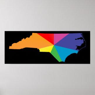 Nord-Carolinastolz Poster