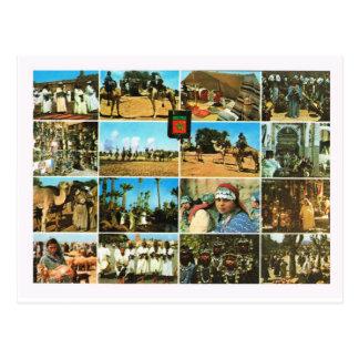 Nordafrika, Marokko, Marrakesch, Multiview Postkarte