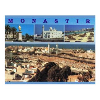 Nordafrika, Monastir, Tunesien, Multiview Postkarte