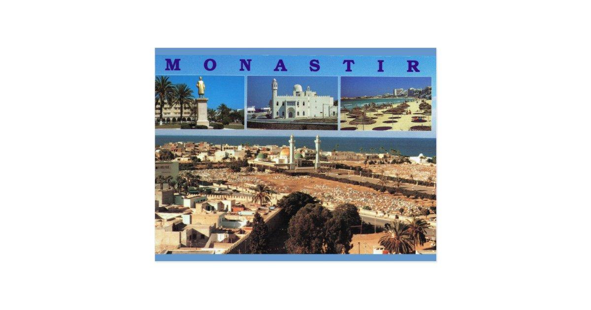 nordafrika monastir tunesien multiview postkarte zazzle. Black Bedroom Furniture Sets. Home Design Ideas