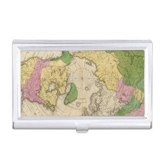 Nordamerika, Asien Visitenkarten Etui
