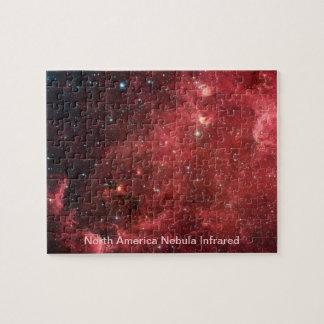 Nordamerika-Nebelfleck-Infrarot Puzzle
