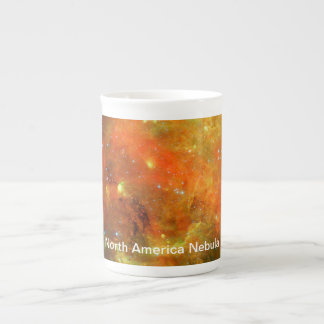 Nordamerika-Nebelfleck Porzellantasse