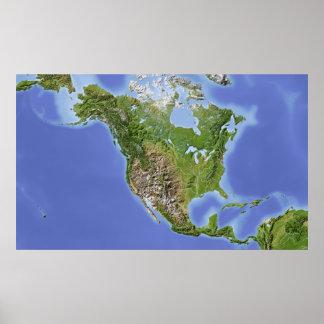 Nordamerika Poster