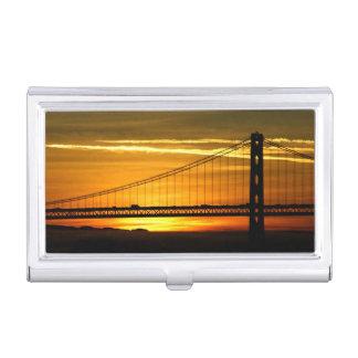 Nordamerika, USA, Kalifornien, San Francisco. 3 Visitenkarten Dose