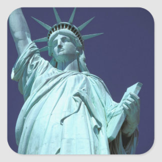 Nordamerika, USA, New York, New York City. 7 Quadratischer Aufkleber