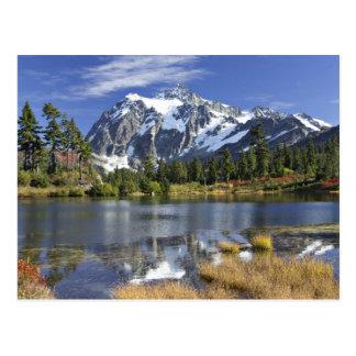 Nordamerika, Washington, Kaskaden. Mt. Shuksan Postkarte