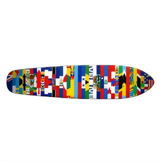 Nordamerikaner kennzeichnet Skateboard Individuelle Decks