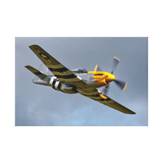 Nordamerikanischer P-51D Mustang 'wildes Frankie Gespannte Galeriedrucke