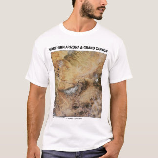 Nordarizona u. Grand Canyon (Bild-Erde) T-Shirt