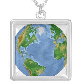 Nordatlantik-Vegetations-Karte Versilberte Kette