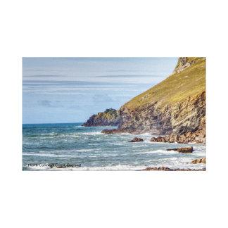 Nordcornwall-Küste, England Leinwanddruck