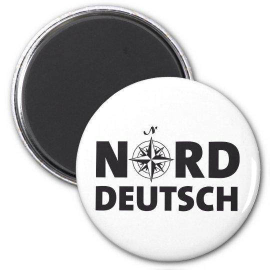 Norddeutsch Runder Magnet 5,7 Cm