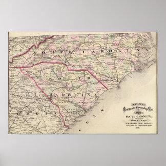 Norden und South Carolina 4 Poster