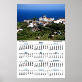 Nordeste - Azoren Plakatdruck