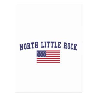 Nordflagge Little Rocks US Postkarte
