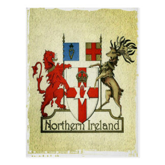 Nordirland Mantel-vonarme Postkarte
