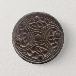 Nordische Brosche Runder Button 5,1 Cm