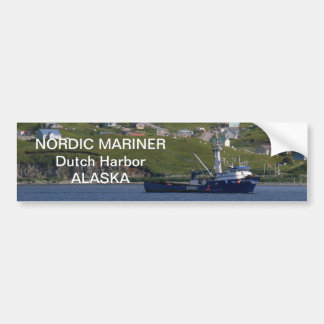 Nordischer Seemann, Krabben-Boot im Autoaufkleber